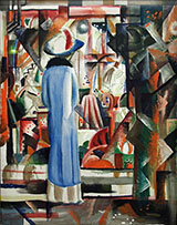 Large Bright Shop Window 1912 By August Macke