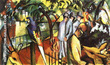 Zoological Garden I 1912 By August Macke