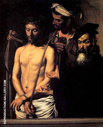 Ecce Homo c.1609 By Caravaggio Replica Paintings on Canvas - Reproduction Gallery
