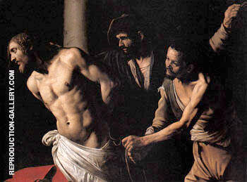 Flagellation of Christ c1606 Painting By Caravaggio - Reproduction Gallery