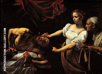 Judith Beheading Holofernes c.1599 By Caravaggio