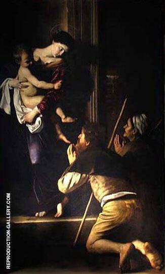 Madonna di Loreto c1603 By Caravaggio