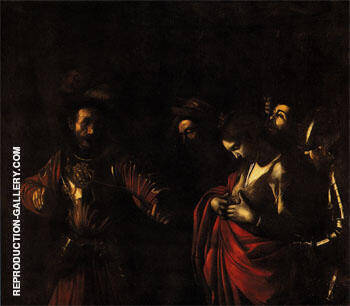 Reproduction of The Martyrdom of St Ursula 1610 by Caravaggio | Oil Painting Replica On CanvasReproduction Gallery