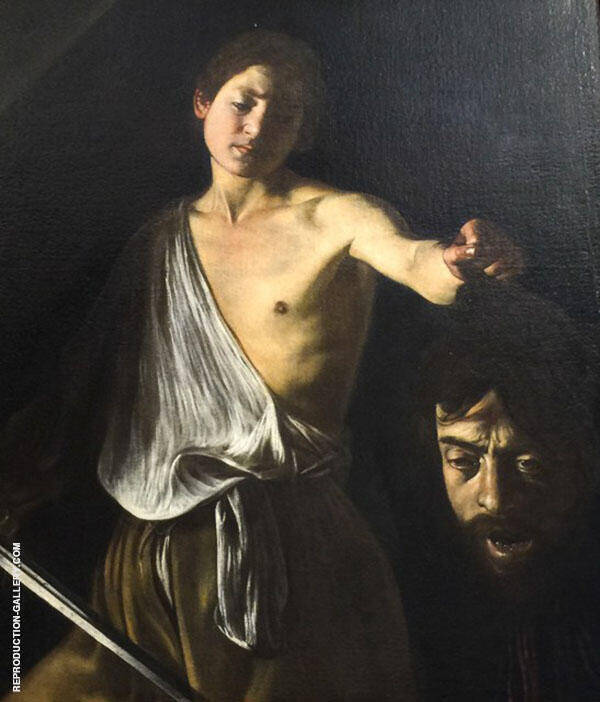 David with the Head of Goliath c.1610 By Caravaggio