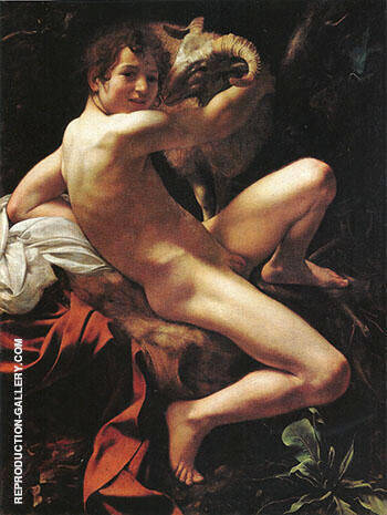 Saint John the Baptist 1599-1600 By Caravaggio Replica Paintings on Canvas - Reproduction Gallery