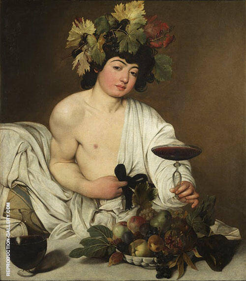 Bacchus 1596-1597 Painting By Caravaggio - Reproduction Gallery