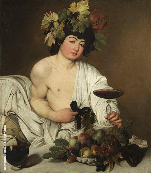 Bacchus 1596-1597 By Caravaggio