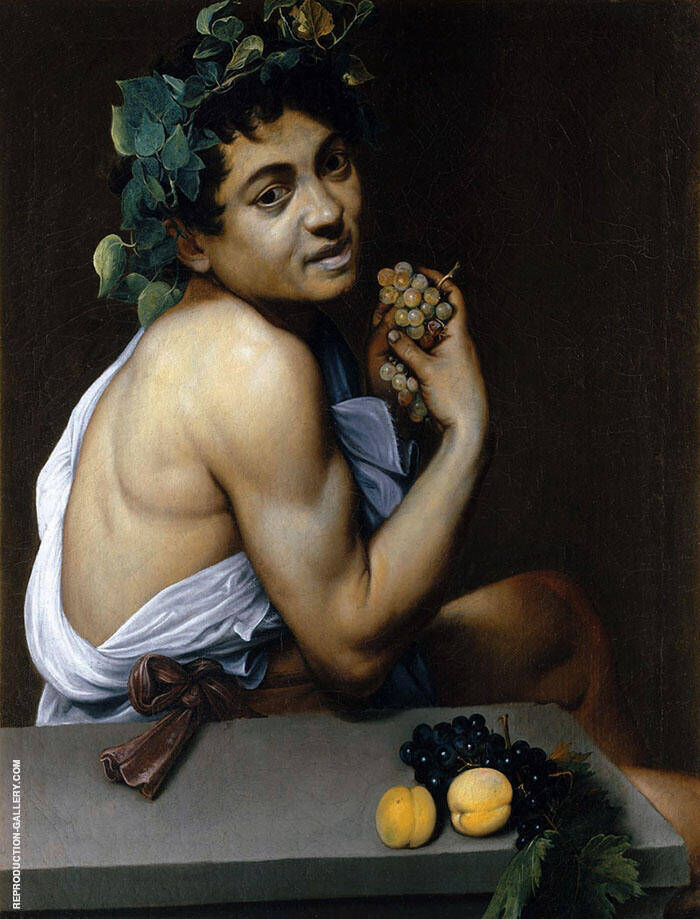 Young Sick Bacchus c1593 By Caravaggio