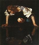 Narcissus 1598-1599 By Caravaggio