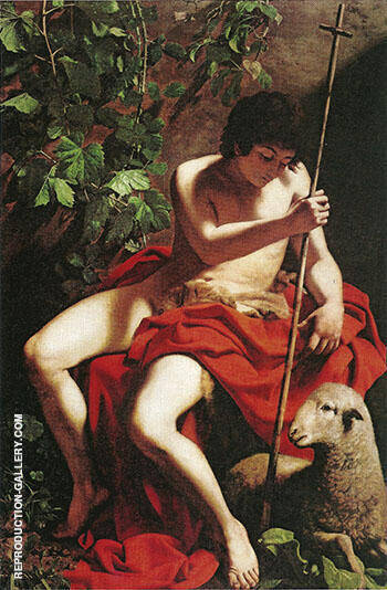 Saint John the Baptist 1597-1598 By Caravaggio