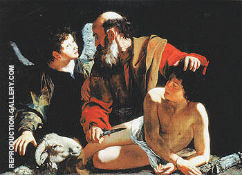 Reproduction of The Sacrifice of Isaac 1596 by Caravaggio | Oil Painting Replica On CanvasReproduction Gallery