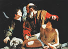 The Sacrifice of Isaac 1596 By Caravaggio
