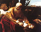 The Sacrifice of Isaac 1603 By Caravaggio