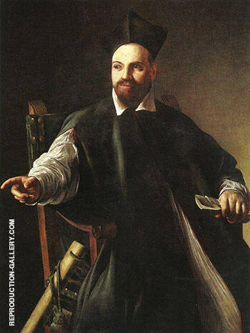 Portrait of Maffeo Barberini 1598 By Caravaggio