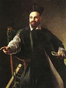 Portrait of Maffeo Barberini 1598 By Caravaggio