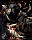 The Conversion of Saint Paul 1600-1601 By Caravaggio