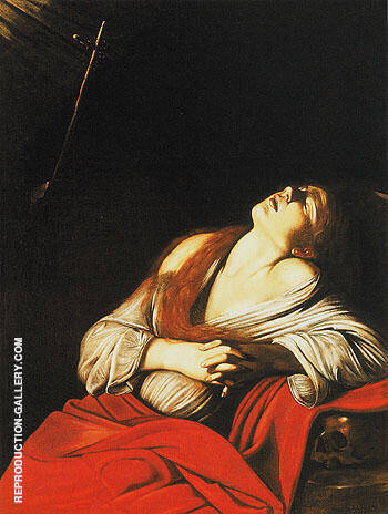 Saint Mary Magdalene in Ecstasy 1606 By Caravaggio