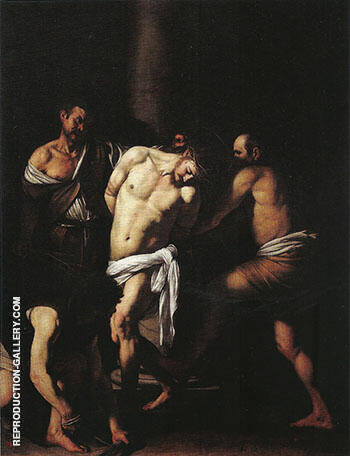 Reproduction of Sebastiano Del Piombo Flagellation 1524-1525 by Caravaggio | Oil Painting Replica On CanvasReproduction Gallery