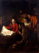 Adoration of the Shepherds 1646-1650 By Bartolome Esteban Murillo
