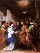 The Marriage of the Virgin c.1665 By Bartolome Esteban Murillo