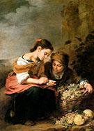 The Little Fruit Seller 1670 By Bartolome Esteban Murillo