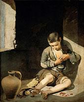 The Young Beggar c1650 By Bartolome Esteban Murillo