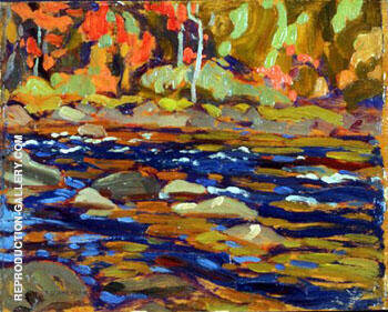 Autumn Algoma By A Y Jackson - Oil Paintings & Art Reproductions - Reproduction Gallery