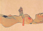 Totes Madchen 1910 By Egon Schiele