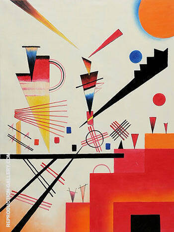 Merry Structure By Wassily Kandinsky - Oil Paintings & Art Reproductions - Reproduction Gallery