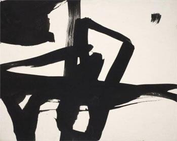 Untitled 1950 B By Franz Kline