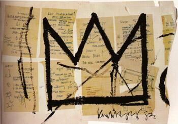 Crown 1983 By Jean-Michel-Basquiat