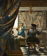 The Art of Painting c1666 By Johannes Vermeer