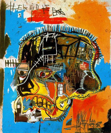 Skull 1981 By Jean-Michel-Basquiat