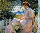 Eleanor 1907 By Frank Weston Benson