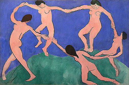 Dance I c1909 By Henri Matisse
