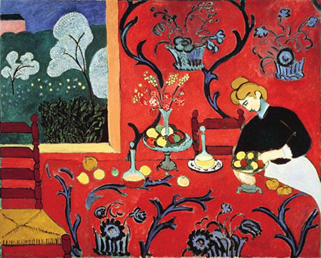 Harmony in Red Red Room By Henri Matisse