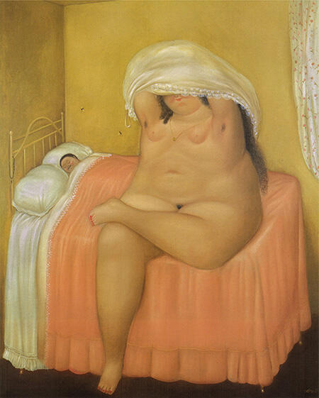 The Lovers 1969 By Fernando Botero - Oil Paintings & Art Reproductions - Reproduction Gallery