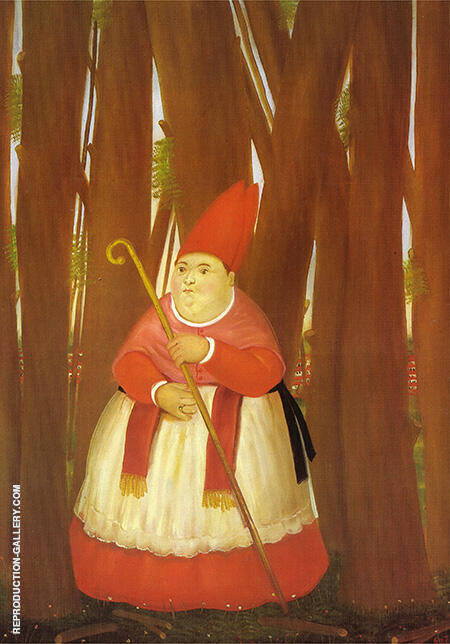 Promenade 1978 By Fernando Botero - Oil Paintings & Art Reproductions - Reproduction Gallery