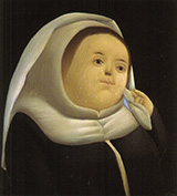 Prioress Mother Superior 1966 By Fernando Botero