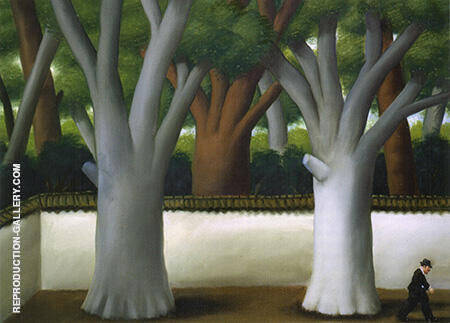 Man on the Street 2001 By Fernando Botero - Oil Paintings & Art Reproductions - Reproduction Gallery