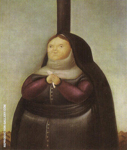 La Dolorosa 1967 By Fernando Botero - Oil Paintings & Art Reproductions - Reproduction Gallery