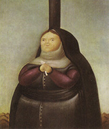 La Dolorosa 1967 By Fernando Botero