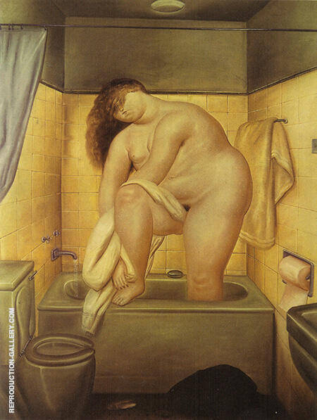 Homage to Bonnard 1972 By Fernando Botero