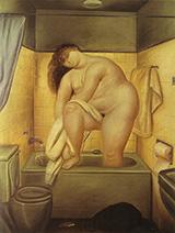 Homage to Bonnard 1972 By Fernando Botero