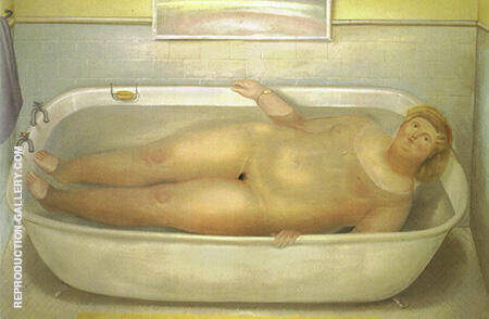 Homage to Bonnard 1975 By Fernando Botero