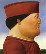 Federico da Montefeltro 1998 By Fernando Botero