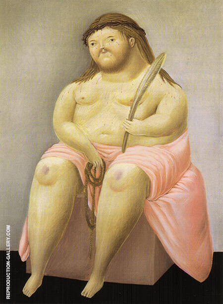 Reproduction of Ecce Homo 1967 by Fernando Botero | Oil Painting Replica On CanvasReproduction Gallery