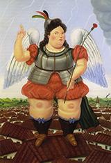 Archangel 1986 By Fernando Botero