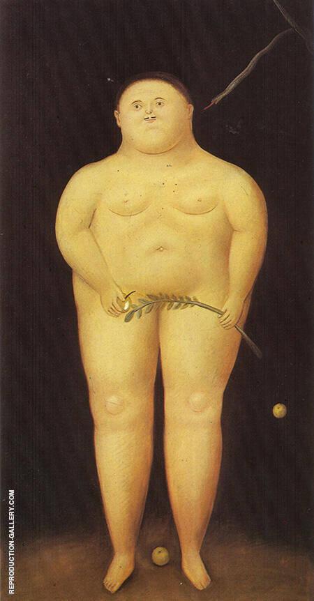 Adam 1968 By Fernando Botero