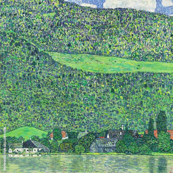 Litzlberg on Lake Attersee 1915 By Gustav Klimt